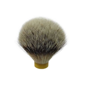 Free Shipping Silver Tip Badger Hair Shaving Brush (20mm base 63mm Height) First Quality