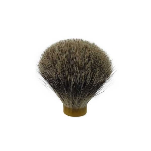 Finest Badger Hair Shaving Brush (19.5mm base 60mm Height) Standard Quality