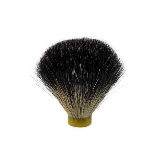 Black Badger Hair Shaving Brush (20.5mm base 65mm Height) Standard Quality