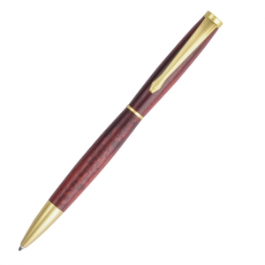 PKSL-2-SG Slimline Satin Gold Twist Pen Kit
