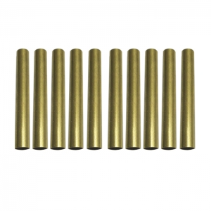 10 Pack Brass Tube Replacement for #PKSL-1 and #PKSL-6 Slimline Pen Kits