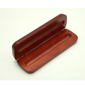 Rosewood Finish Pen Box,Single