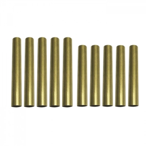 PKTU-M1 Brass Pen Tube Replacement for Pen Kit PKM-1(5 Sets)