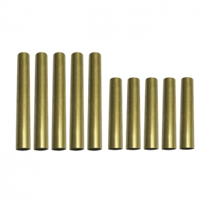 PKTU-M3 Brass Pen Tube Replacement for Pen Kit PKM-3(5 Sets)