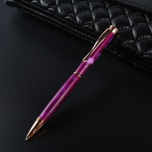 PKSL-1-RG Slimline Rose Gold Twist wood craft Pen Kits