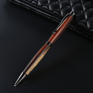 PKSL-6-GM Slimline Dark Gun Metal Twist Pen Kit