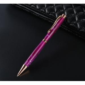 PKSL-6-RG Slimline Rose Gold Twist Pen Kit