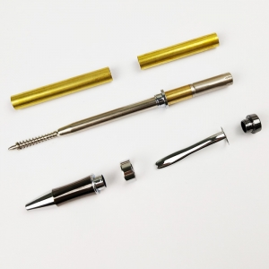 PKM-3-CH Twist Pen Making Kits Chromed Color