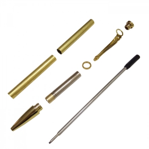 Cheap Secondary Quality Slimline Pen kits for practice woodturning club