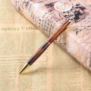 PKSL-2-G Slimline Gold Twist Pen Kit