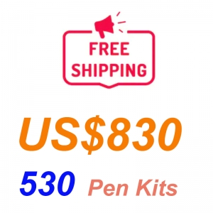 Promotion 530 Pieces Pen Kits Free Shipping