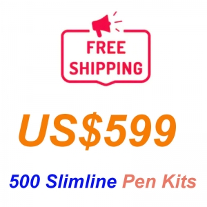 promotion 500 pieces of Slimline pen kits Free shipping