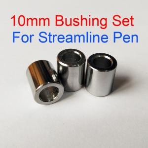 10mm Diameter Set of 3 Bushing Set for Streamline Pens